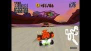 Crash Team Racing - Area Citadel City - Hot Air Skyway - Gold Relic