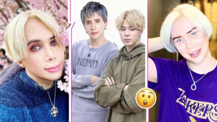 Британски инфлуенсър шокира с операция, иска да прилича на Пак Джи Мин от BTS