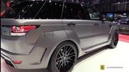 2015 Range Rover Sport by Hamann - Exterior and Interior Walkaround - 2015 Geneva Motor Show