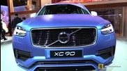 2016 Volvo Xc90 T6 Awd R-design - Exterior and Interior Walkaround - 2015 Detroit