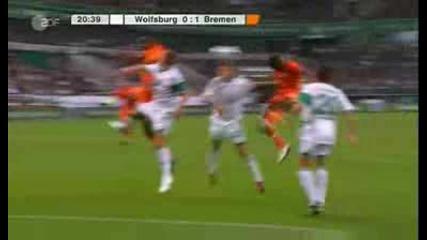 20.07 Вердер спечели суперкупата на Германия след 2:1 над Волфсбург