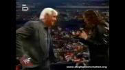 Raw 03.01.2002 Stephanie Mcmahon удря Rick Flair