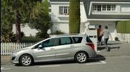 Смях - катерицата от Ice Age събира жълъди в Peugeot 308