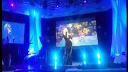 Даяна изпълнява Derniere Danse на Indila /коледен концерт/ 16.12.2015г.