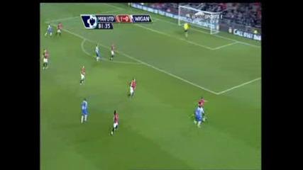 Манчестър Юнайтед - Уигън 1:0