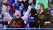 Relive the bitter rivalry between AJ Styles, Kevin Owens & Sami Zayn: SmackDown LIVE, Jan. 16, 2018