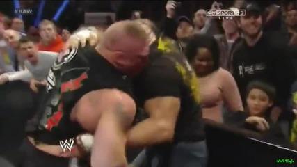 Triple H се завръща (и пребива Brock Lesnar.. 2013)