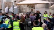 East Jerusalem: Scuffles erupt as women pray with Torah scrolls at Western Wall