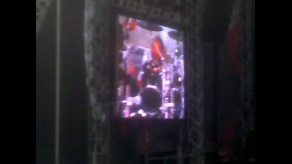 Manowar С песен в памет на Dio ( stadion Vasil Levski Sonisphere Festival 2010 )
