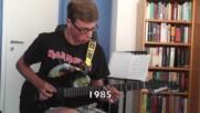 Evolution of Metal - Raz Ben Ari Cover