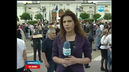 Подновиха протестите срещу правителството - Новините на Нова