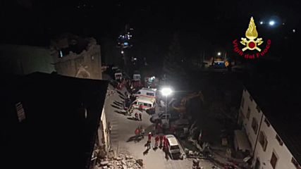 Italy: Death toll in Amatrice rises to 247 as non-stop rescue op continues