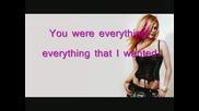 Avril Lavigne - My Happy Ending{lyrics}