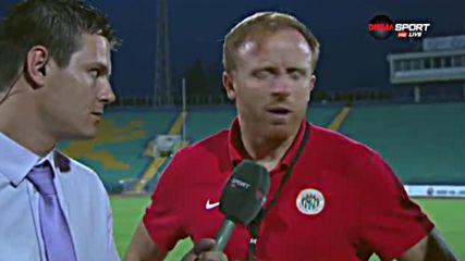 Треньорът на Заглембе: Поздравявам Славия, ще видим какво ще стане на реванша