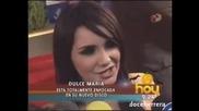 Dulce Maria aclara rumores sobre Pedro Damian (hoy)