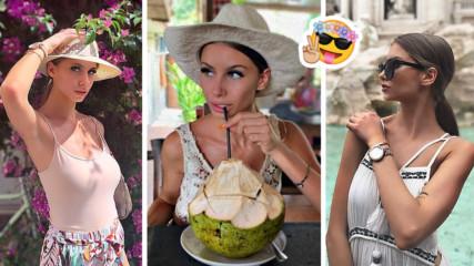 Красавицата Павела от ''Дяволското гърло'' на романтична почивка на Бали