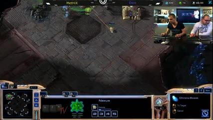 Забавен Starcraft с Methix - Afk Tv Еп. 14 част 4.2