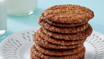 Тънки джинджифилови бисквити с меласа | Печивата на Марта | 24Kitchen Bulgaria
