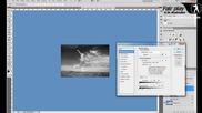 Фотошоп призрачен ефект / Photoshop ghost effect