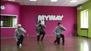 Diggy Simmons Dj Spinking - S550 hip-hop choreography by Dima Vnukov - Dance Centre Myway