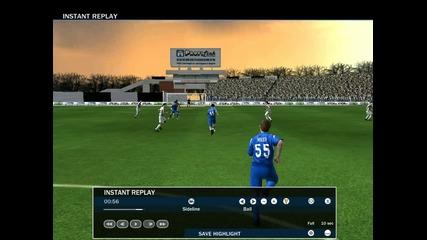 Fifa 2010 Bfl - Гол на Владо Гаджев