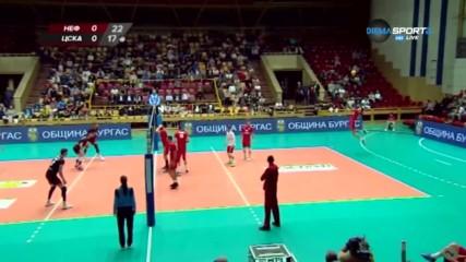 Какво се случи в първия кръг на Суперлигата по волейбол?