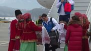 Russia: Russian football team arrives in Sochi ahead of friendly with Belgium