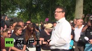 Netherlands: Hundreds march in memory of Mitch Henriquez in The Hague