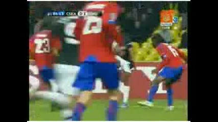 21.10.09 Cska Moscow Live 0:1 Manchester United ( Valencia )