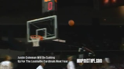 Justin Coleman Has Bounce; 64 Louisville Bound Shooting Guard.