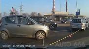 Жени шофьори на пътя в Русия
