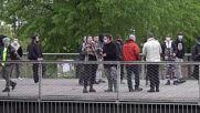 France: Police break up illegal rave in Paris park