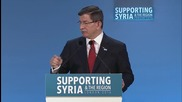 UK: 300,000 in Aleppo ready to move towards Turkey border, claims Davutoglu