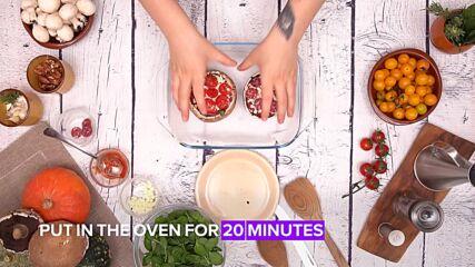 Portobello challenge: Pizza style