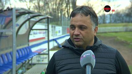 Митов: Имаше нужда от трите точки след мача с Пирин