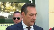Austria: FPO candidate Strache casts vote in general election