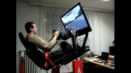 Изключителен симулатор на F1