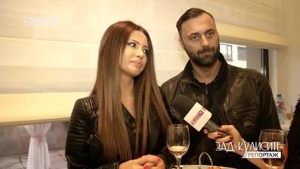 Ваня и Dj Дамян на откриване на салон за красота