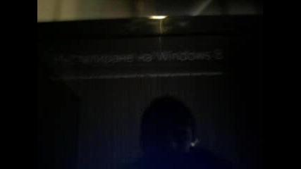 Как да инсталираме Windows 8 Част 1