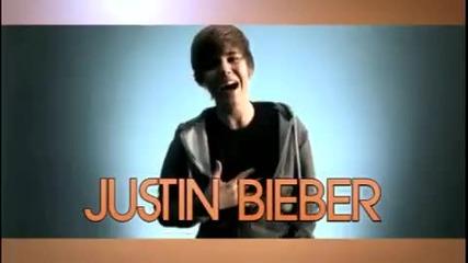 Реклама на албума на Justin Bieber