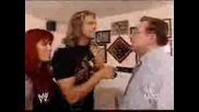 Wwe Raw - Edge В Дома На John Cena