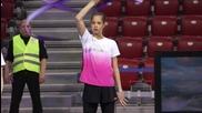 Тренировката на българските грации