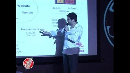 Seeme 2010 - Пламен Русев - Музика и социални мрежи