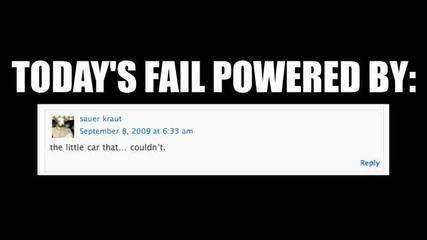 Four - Wheeling Fail