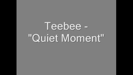 Teebee - Quiet Moment