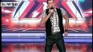 Актьор изуми журито с пеене и присъствие - X Factor 14.09.11
