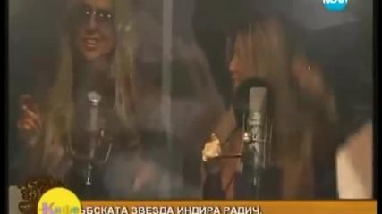 Indira Radic - Intervju - Jutarnji Program - (Bugarska 2012)