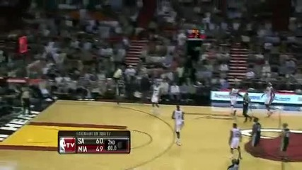San Antonio Spurs @ Miami Heat 98 - 120 [17.01.2012]