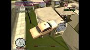 Gта San Andreas Multiplayer яко падане 6