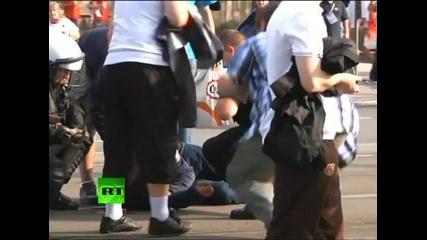 Меле между Руснаци и Поляци. Евро 2012